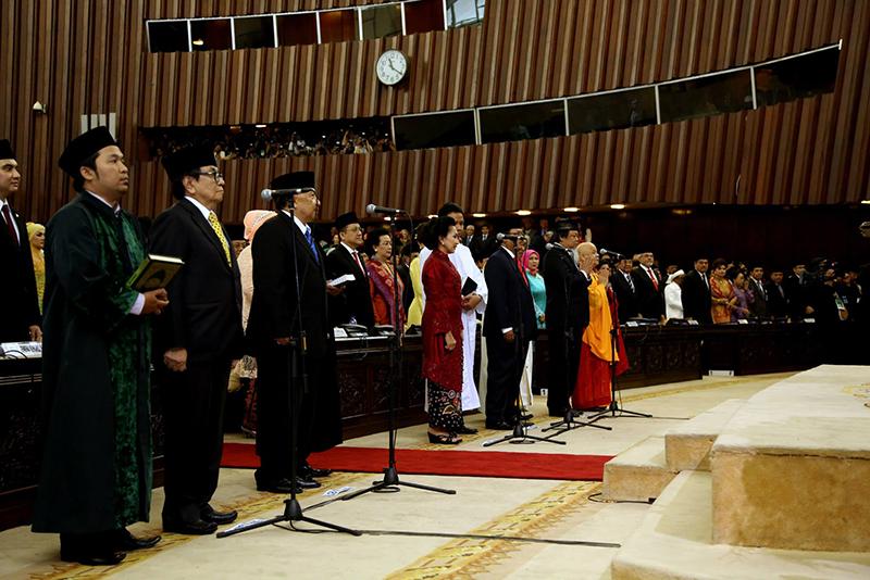 Pelantikan Anggota DPR-RI Periode 2014 – 2019