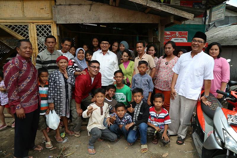 Silaturahim dengan Warga Kampung Anyar, Kabupaten Bogor