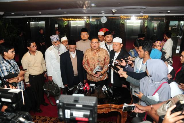 Wakil Ketua DPR Fadli Zon Terima Forum Umat Islam