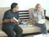 Dengan Sitor Situmorang, 15 Agustus 2009